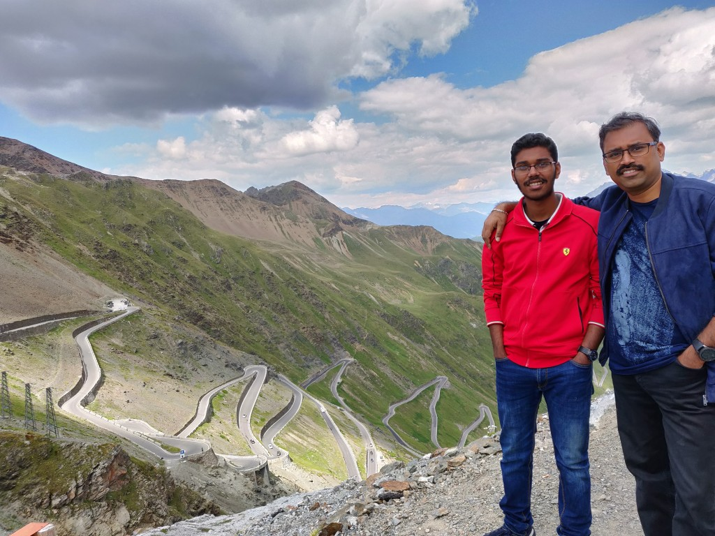 Stelvio Pass Top view