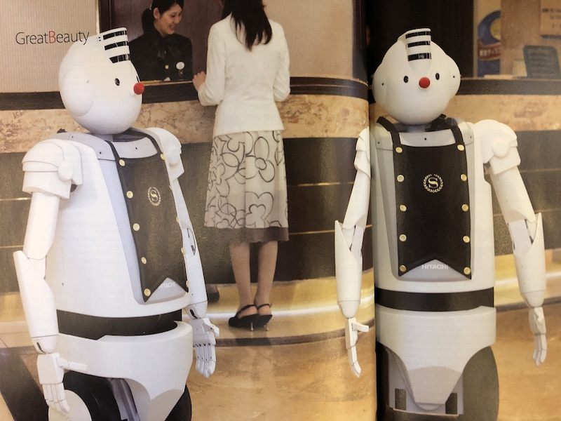 Robots in Hotel