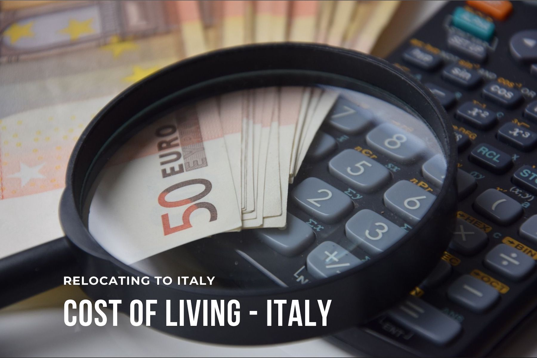 Cost of Living in Italy