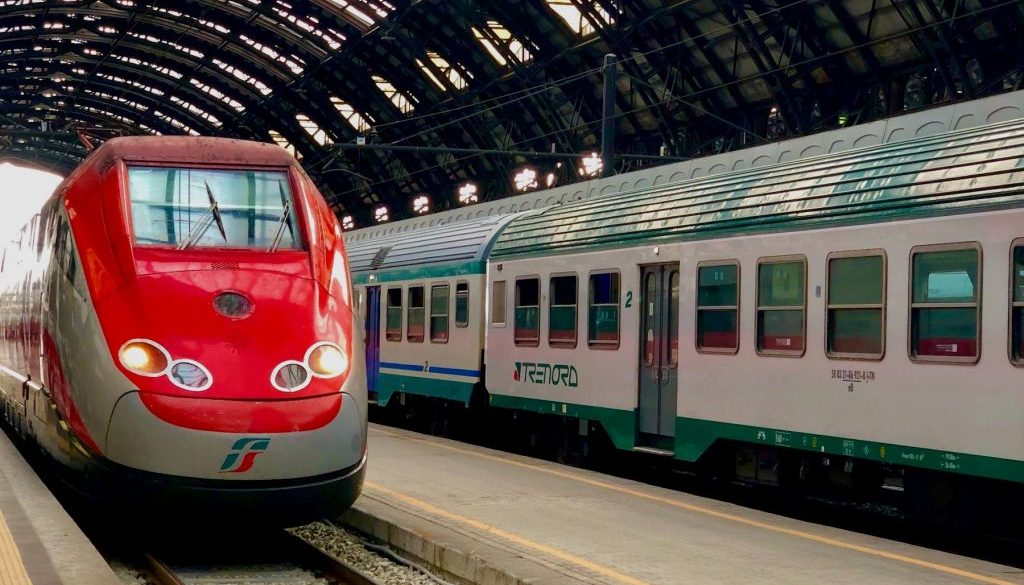 Traveling by Train in Italy
